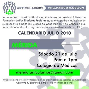 ArticularNOS P2 Mérida